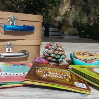 Shape your Soulmessage Leporello Kreativ Set Komplett der magische Koffer voller Kreativität von Bettina Schott