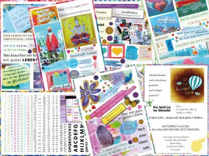 Illustration Titel Online Kurs Shape your Soulmessage mit Bettina Schott