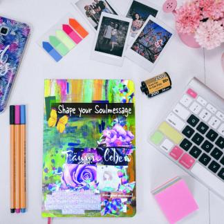 Shape your Soulmessage - Der kreative Online Kurs für deine Seelencollage inklusive dem magischen Kreativ Set