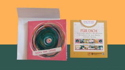 Leporello Lebensfreude Das kleine Faltbuch Glückwunschkarte
