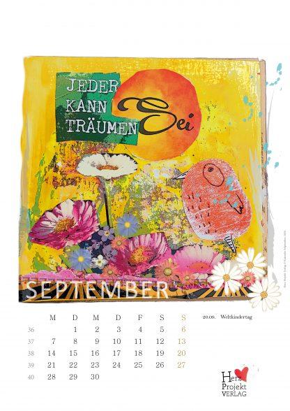 978-3-9820182-4-9 Jahreskalender Dein Lebe-glücklich-Kalender 2020 für dien Jahr Inspirationen. Motivation und Inspirationen für dein Jahr 2020 im Wandkalender