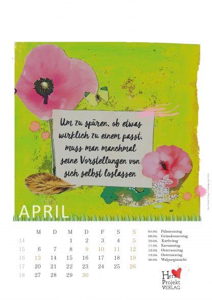 ISBN9783982018249 Jahreskalender Dein Lebe-glücklich-Kalender 2020 für dien Jahr Inspirationen. Motivation und Inspirationen für dein Jahr 2020 im Wandkalender