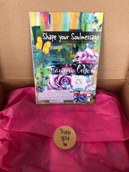 Shape your Soulmessage Der kreative Online Kurs inklusive dem magischen Koffen & Kreativ Set