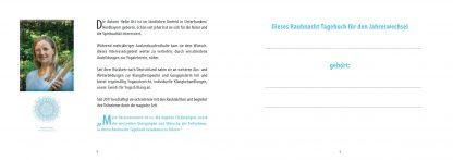 Das Rauhnacht Tagebuch der Neuen Zeit ISBN 978-3-9820182-5-6 von Heike Ott