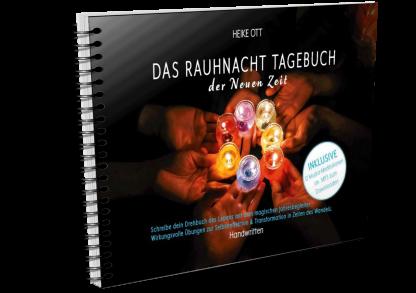 Titel-3D-Das Rauhnacht Tagebuch der Neuen Zeit ISBN 978-3-9820182-5-6 von Heike Ott